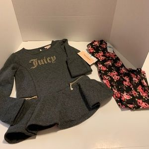 NWT Juicy couture set 2 pieces
